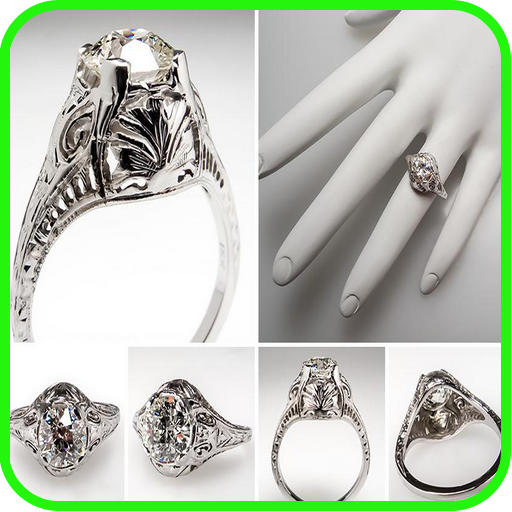 Antique Engagement Rings ()