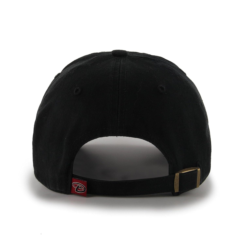 b77658ac6 Amazon.com : MLB Arizona Diamondbacks '47 Brand Clean Up Home Style  Adjustable Cap, One Size, Black : Sports Fan Baseball Caps : Sports &  Outdoors