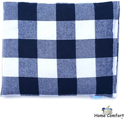 Microwaveable Heating Pad (Blue Plaid)