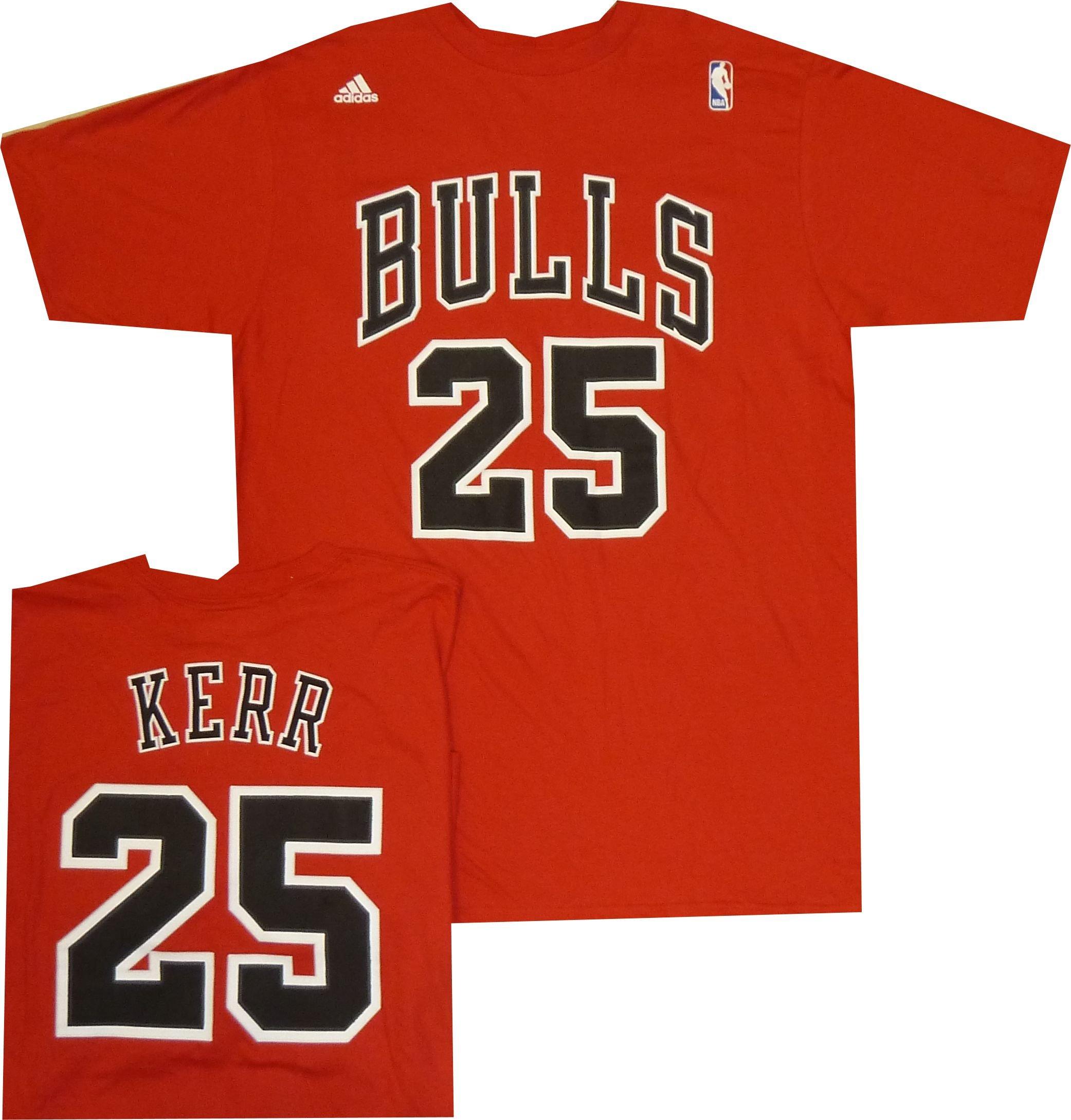 sale retailer bc0af 88d2d Galleon - Adidas Men's Chicago Bulls Steve Kerr Throwback ...