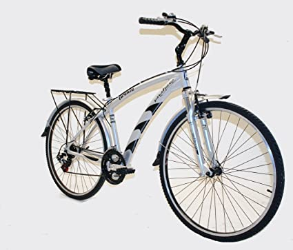 Amazon.com : Pulse by Kettler Men\'s Firenze Comfort Bike (19-Inch ...