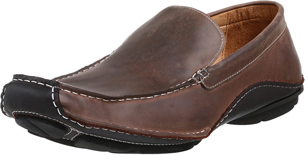 gasolina crema Herencia  Steve Madden Mens NOVO1 Novo Brown Size: 11.5 M US: Amazon.co.uk: Shoes &  Bags