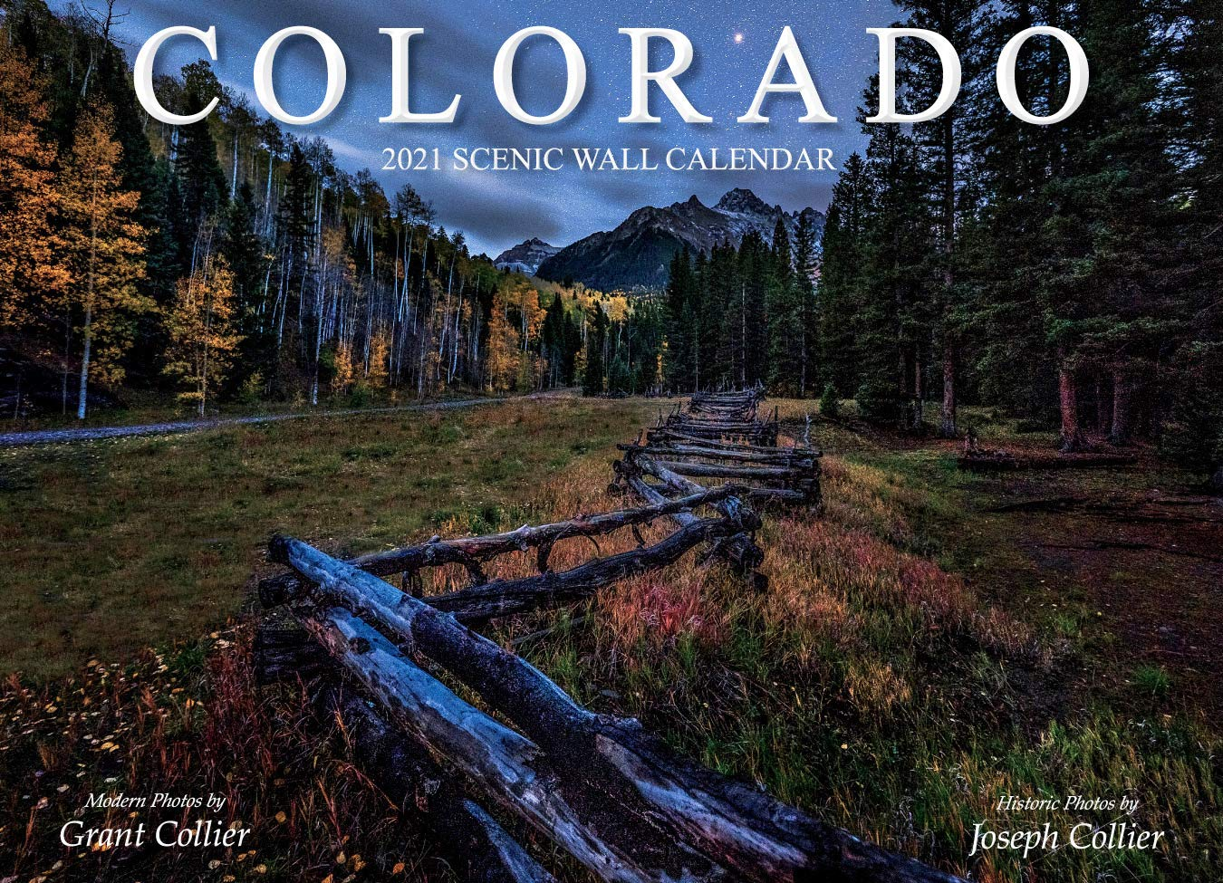 Image for Colorado 2021 Scenic Wall Calendar