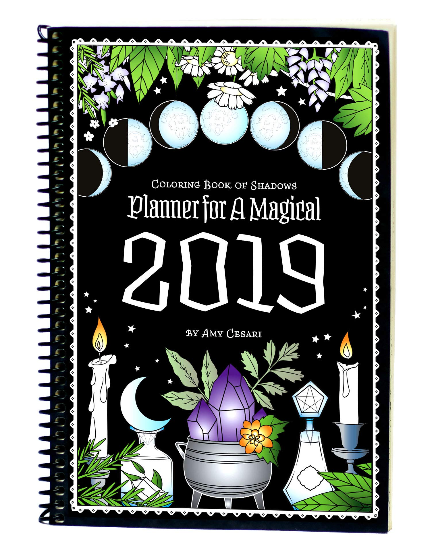 1020+ Coloring Book Of Shadows Planner Picture HD