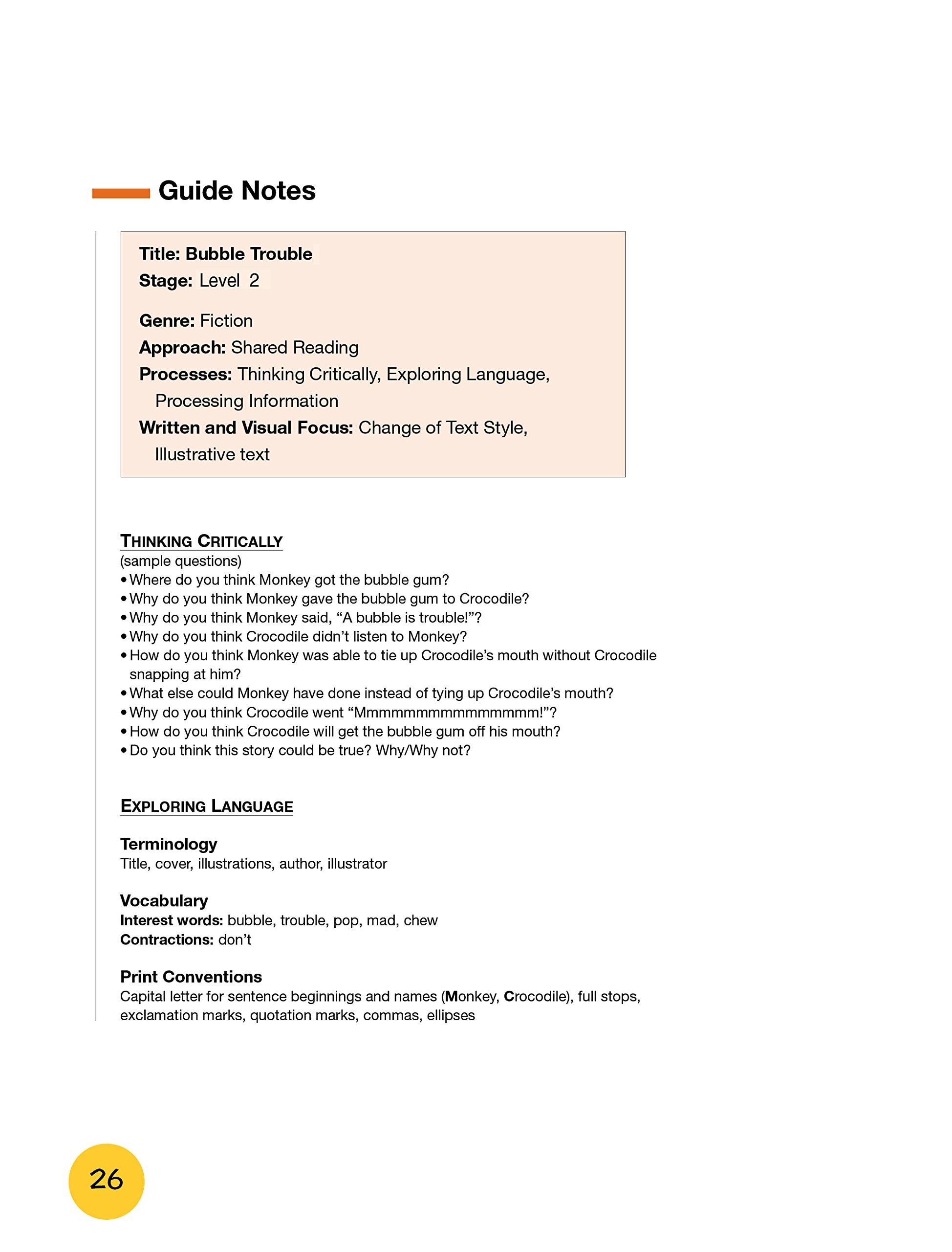 领航船 培生英语分级绘本 2 1 Bubble Trouble Amazon Com Books