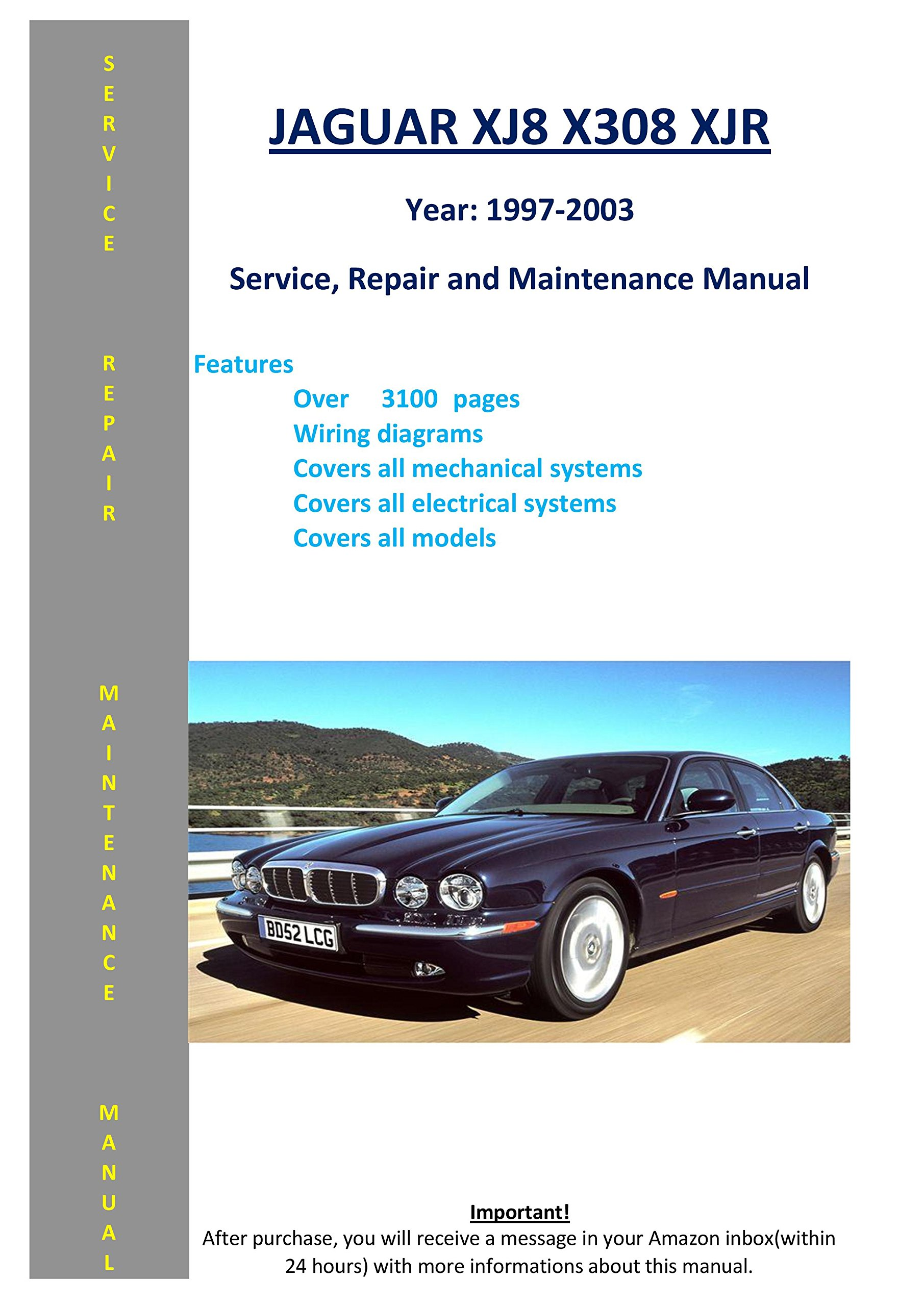 Jaguar Xj8 Xjr X308 From 1997-2003 Service Repair Maintenance Manual:  SoftAuto Manuals: 5217845410030: Amazon.com: Books