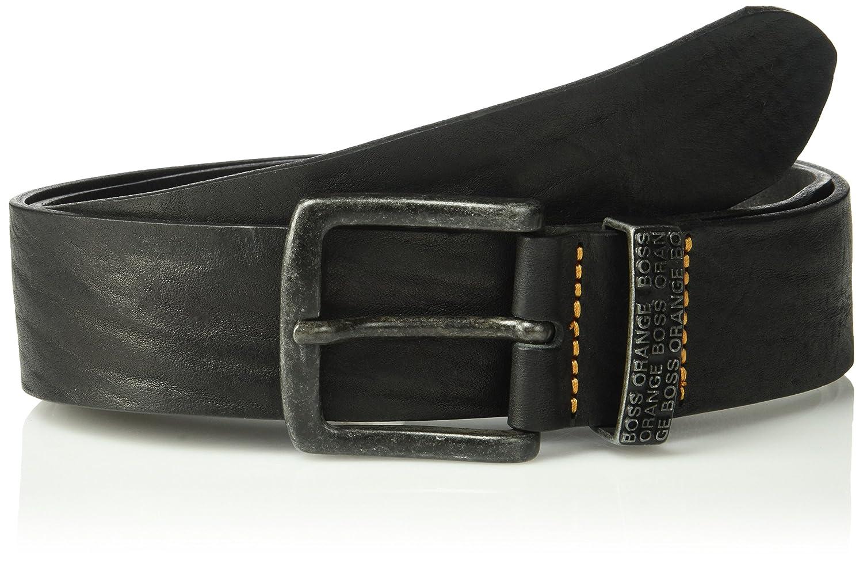 13a3d77fbaf Amazon.com: HUGO by Hugo Boss Men's Jep Leather Belt: Clothing