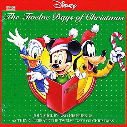 disney 12 days christmas - Disney 12 Days Of Christmas