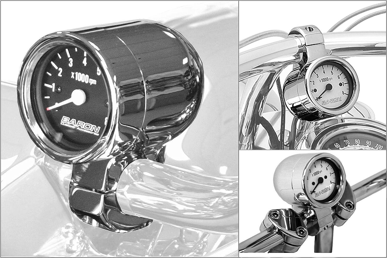 Baron Custom Accessories Bullet Tachometer BA-7576-U