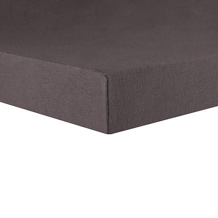 CelinaTex Lucina Sábanas Ajustables Revestimiento para Cama Boxspring algodón 180x200-200x200 cm Antracita: Amazon.es: Hogar