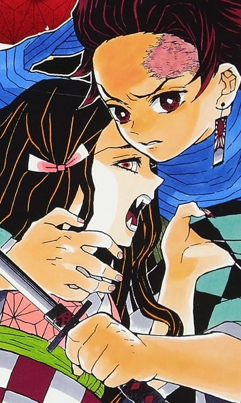 鬼滅の刃 竈門 禰豆子(かまど ねずこ),竈門 炭治郎(かまど たんじろう) FVGA(480×800)壁紙画像