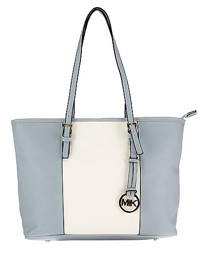 24585ec73df6a MIK Glamour Trendy Elegante Damen Schultertasche Handtasche PU-Ledertasche  Grob