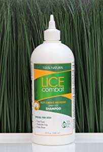 Lice Shampoo | Kills Lice, Super Lice & Nits | Repels & Prevents | Pesticide Free | 100% Natural | Tea Tree + Coconut Oil + Aloe Vera | Best Value | Smells Great