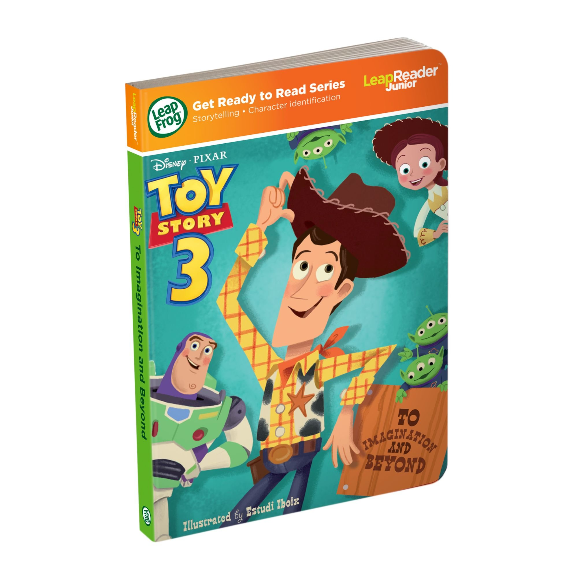 LeapFrog LeapReader Junior Book: DisneyPixar Toy Story 3: To Imagination and Beyond (works with Tag Junior)