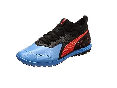 Puma Men s One 19.3 Tt Football Shoes Blue (Bleu Azur-Red Blast Black) caf0f8efc