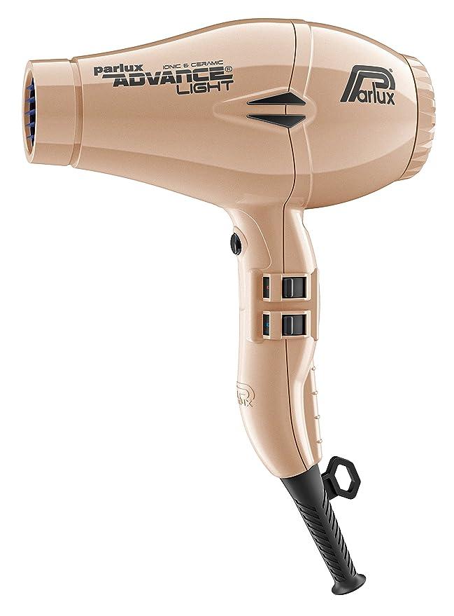Parlux Advance Light - Secador de pelo ionico, Dorado: Amazon.es: Salud y cuidado personal