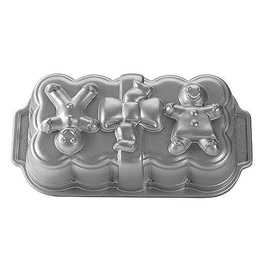 Amazon.com: Nordic Ware Gingerbread Loaf Pan: Nordic Ware Baking ...