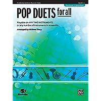 Pop Duets for All: Trombone, Baritone B.C., Bassoon, Tuba (For All Series)