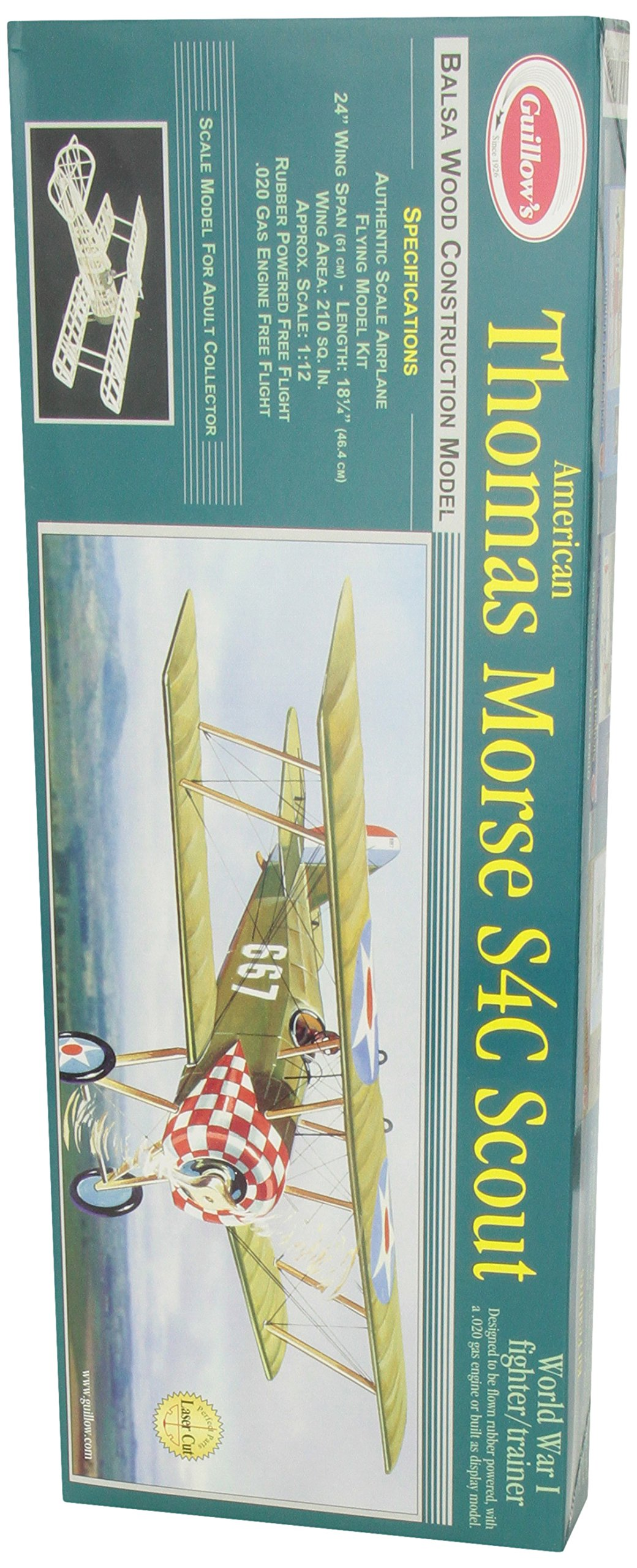 Guillow's Thomas Morse Scout Laser Cut Model Kit by Guillow (Image #5)