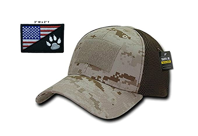 e3f21600c33 Amazon.com  Elite Gear Operator Cap Bundle w USA Blackwater Tracker ...