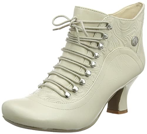 Hush Puppies H508744, Botas Cortas Mujer, Blanco (VIVIANNA/OFF Blanco LEATHER), 41 EU: Amazon.es: Zapatos y complementos