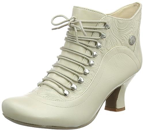 Hush Puppies H508744, Botas Cortas Mujer, Blanco (VIVIANNA/OFF Blanco LEATHER), 41 EU: Amazon.es: Zapatos y complementos