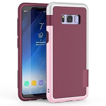 Funda Galaxy S8 Plus, HanLuckyStars TPU Fundas Carcasa para Samsung Galaxy S8 plus Case Galaxy S8 Plus Funda con [Ultra ...