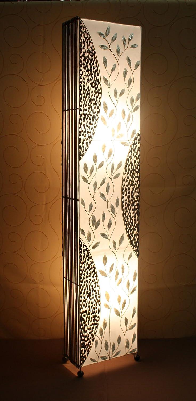 Lámpara de pie asiatica Baku (LA12-23), Decoración luminosa ...