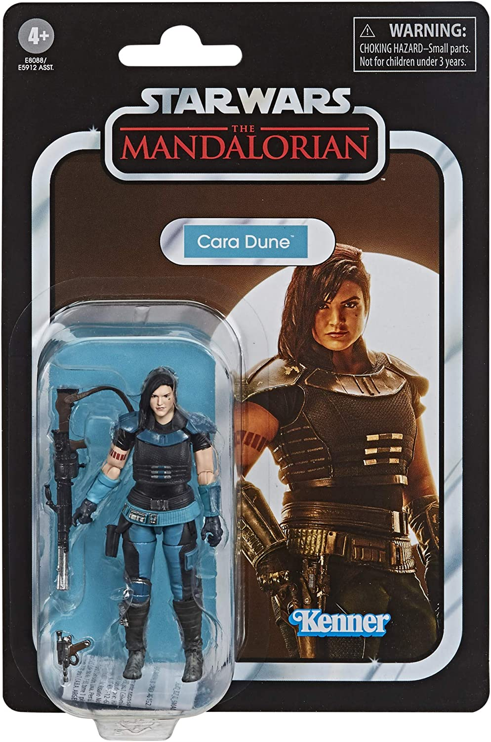 "Kenner Star Wars THE MANDALORIAN CARA DUNE 6/"" VINTAGE FIGURE Christmas The Child"