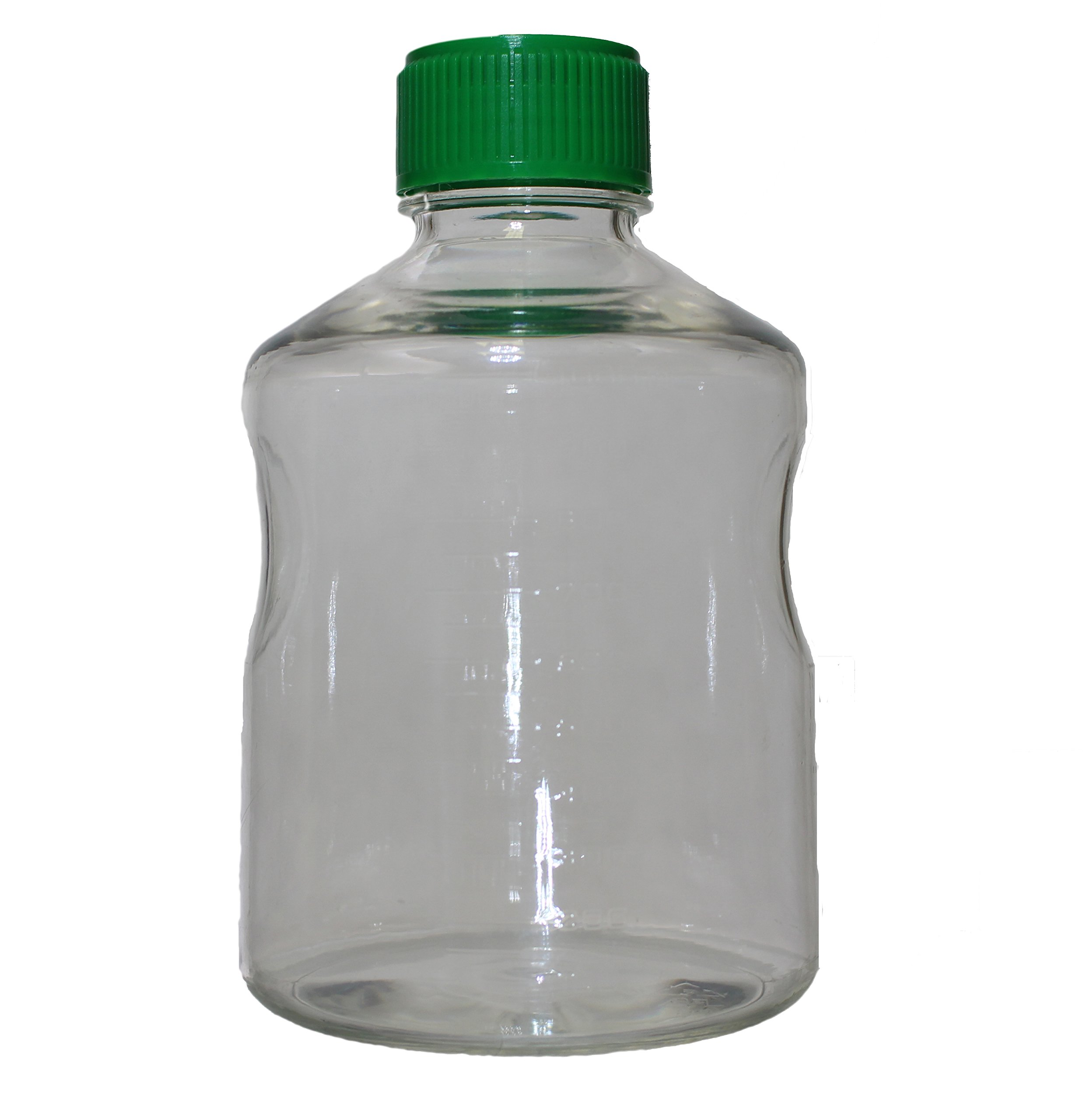 1000 mL Vacuum Filter Reservoir Bottle, Polystyrene, Sterile, Case of 24 by Syringa Lab Supplies