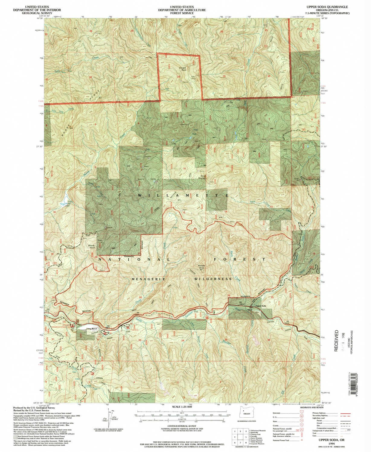 Amazoncom Yellowmaps Upper Soda Or Topo Map 124000 Scale 75 X - Soda-map-of-the-us