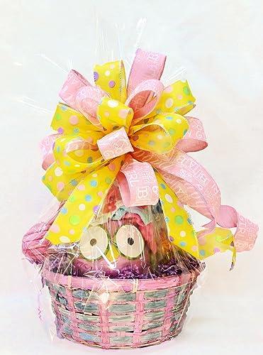 Amazon Com Baby Girl Gift Basket Baby Shower Plush Starfish