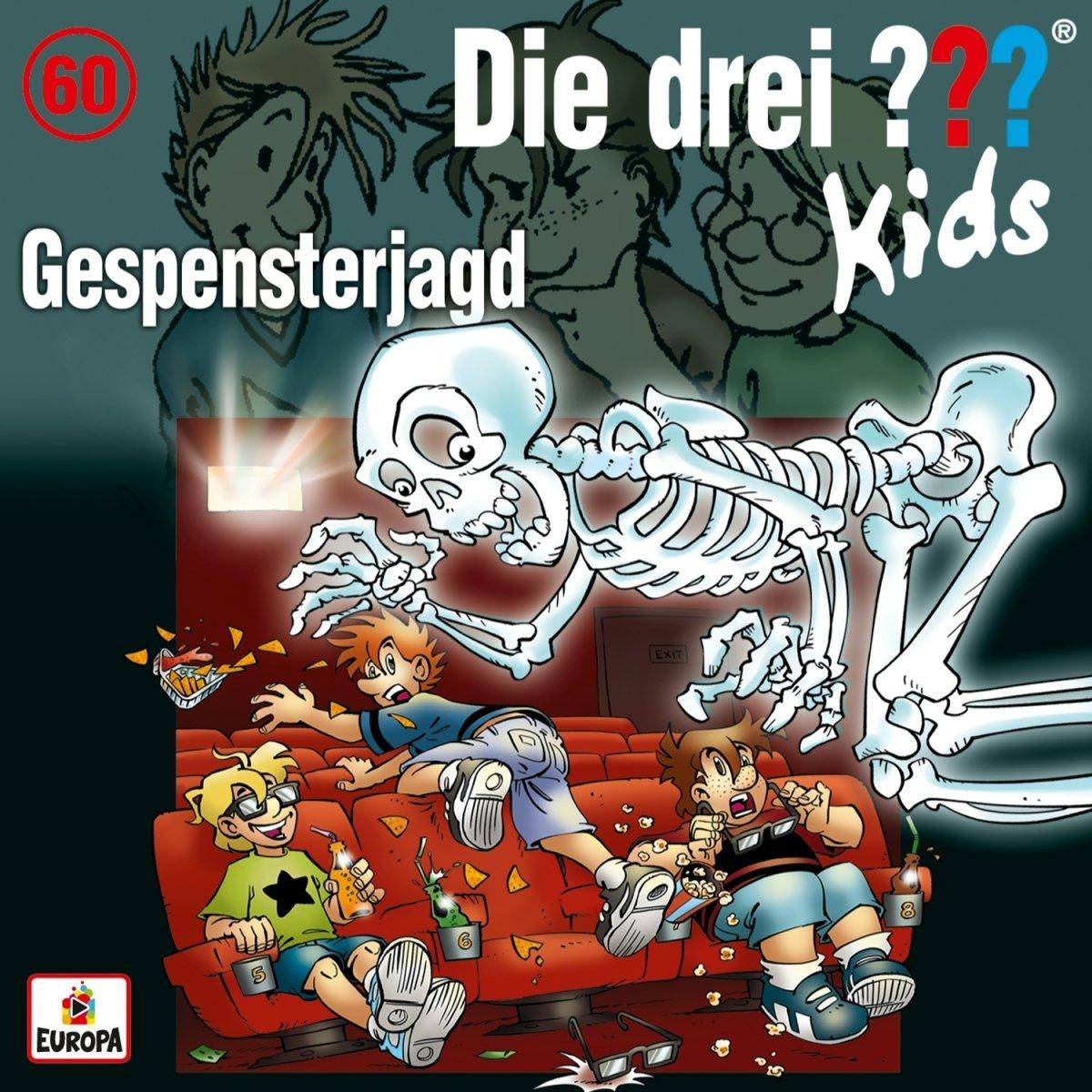 060/Gespensterjagd Europa (Sony Music) Wort Kinderhörspiele Kindermusik & Hörspiele / Hörspiele