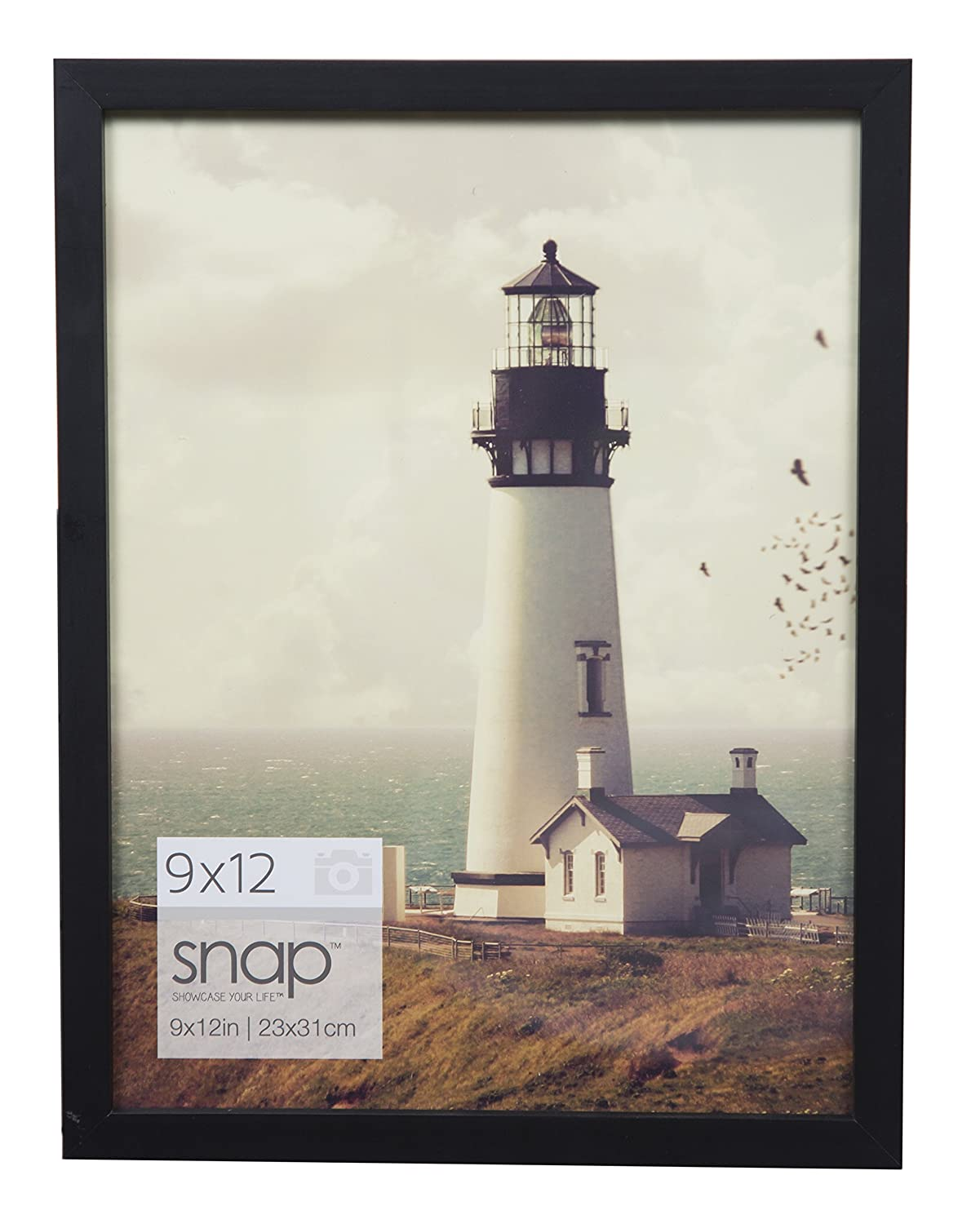 Snap 8.5x14 Black Wood Wall Photo Frame NBG Home 10FW1568