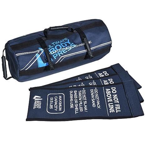 6dd555e67f Ultimate Body Press Exercise Sandbag with 3 Sand Filler Bags