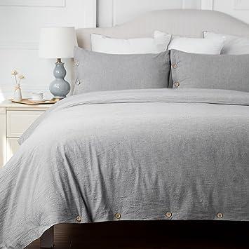Bedsure More Than Comfort Bedsure Baumwolle Bettbezug Sets Mit