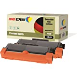 Pack 2 TONER EXPERTE® Compatibles TN2320 Cartouches de Toner pour Brother HL-L2300D, HL-L2320D, HL-L2340DW, HL-L2360DN, HL-L2360DW, HL-L2365DW, HL-L2380DW, DCP-L2500D, DCP-L2520DW, DCP-L2540DN, DCP-L2560DW, MFC-L2700DW, MFC-L2720DW, MFC-L2740DW