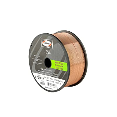 Harris E70S612 ER70S-6 MS Spool with Welding Wire, 0.023 lb. x 2 lb.: Tools Products: Industrial & Scientific