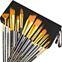 15-Pc UnityStar Long Handle Artist Brushes