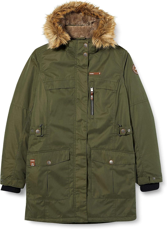 Killtec Hadara Jr Ni/ñas Chaqueta de invierno con capucha desmontable