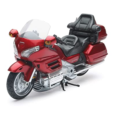 "New Ray 57253 ""Honda Goldwing 2010"" Assorted Color Motorbike: Toys & Games"