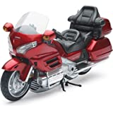 New Ray - 57253 - Véhicule Miniature - Modèles À L'échelle - Moto Honda Goldwing - Echelle 1/12