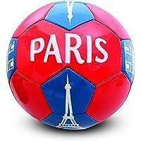 Holisport - HP04592 - Ballon de Football 'Paris' - Mixte - Multicolore (Rouge/Bleu) - Taille: 5