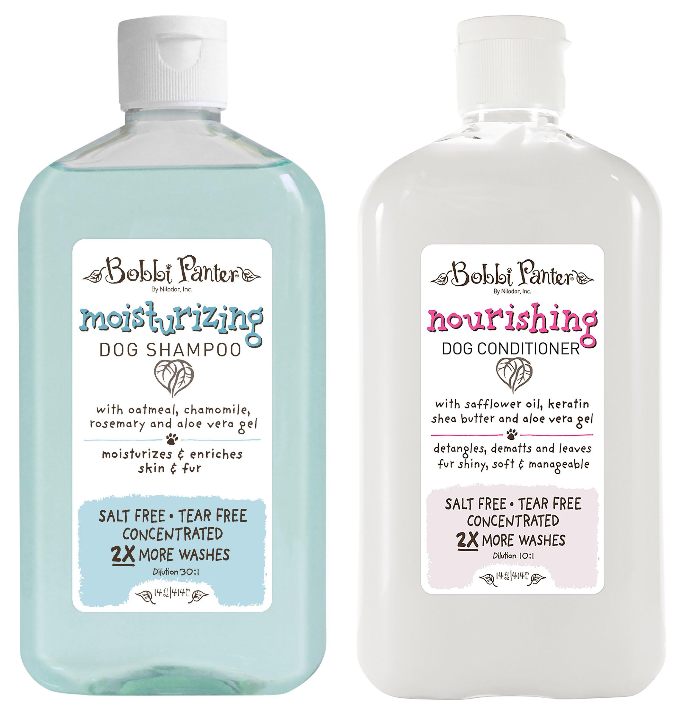 Bobbi Panter Natural Moisturizing Dog Shampoo and Nourishing Conditioner by Bobbi Panter