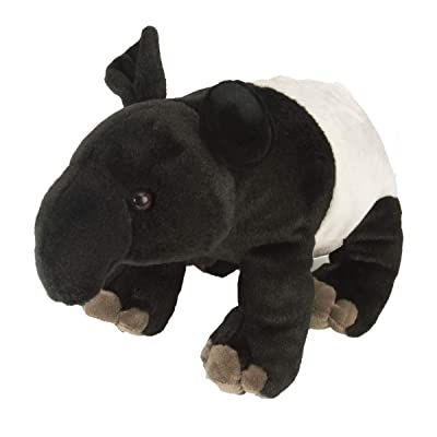 Wild Republic Tapir Plush, Stuffed Animal, Plush Toy, Gifts for Kids, Cuddlekins 12 Inches: Toys & Games