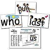 SnapWords List B Sight Word Pocket Chart Cards