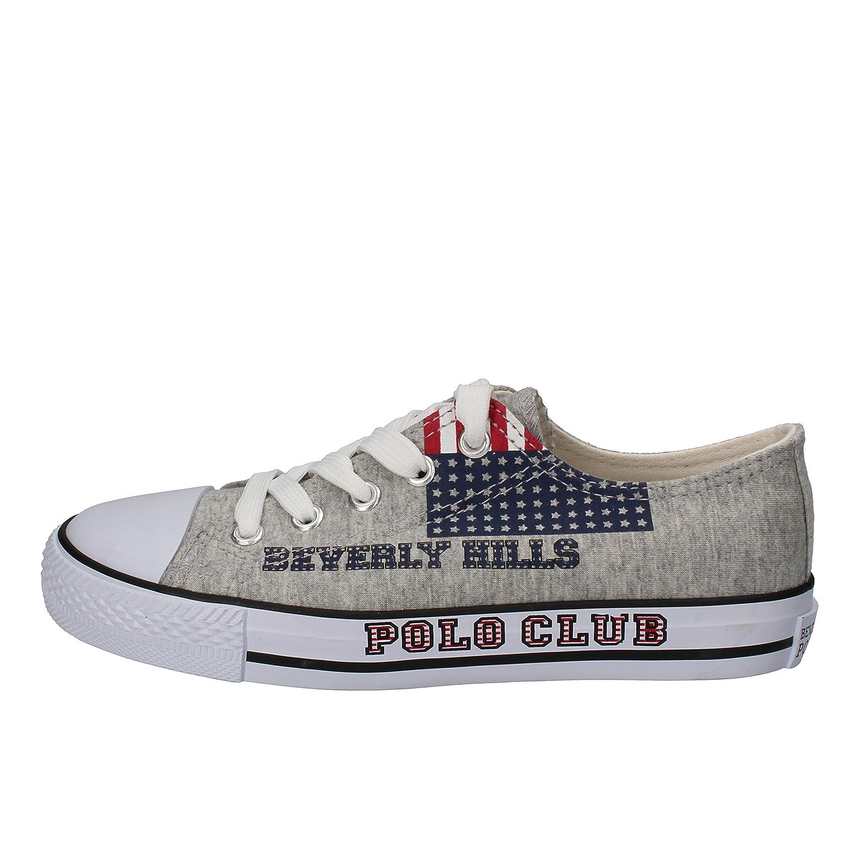 BEVERLY HILLS POLO CLUB - Zapatillas de Tela para niño Gris Gris ...