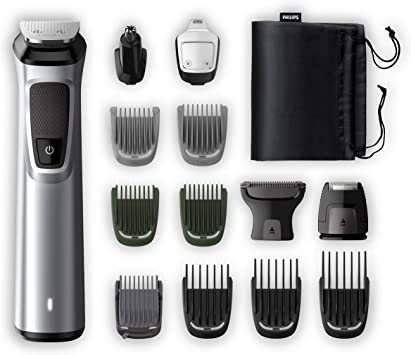 Philips Barbero MG7720/15 Recortador de barba y pelo, óptima ...