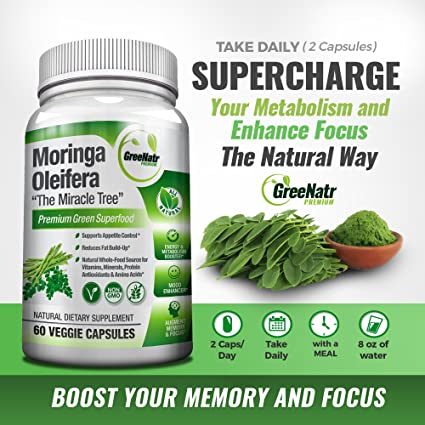 Amazon.com: Extracto de hojas oleifera Pure Moringa en ...