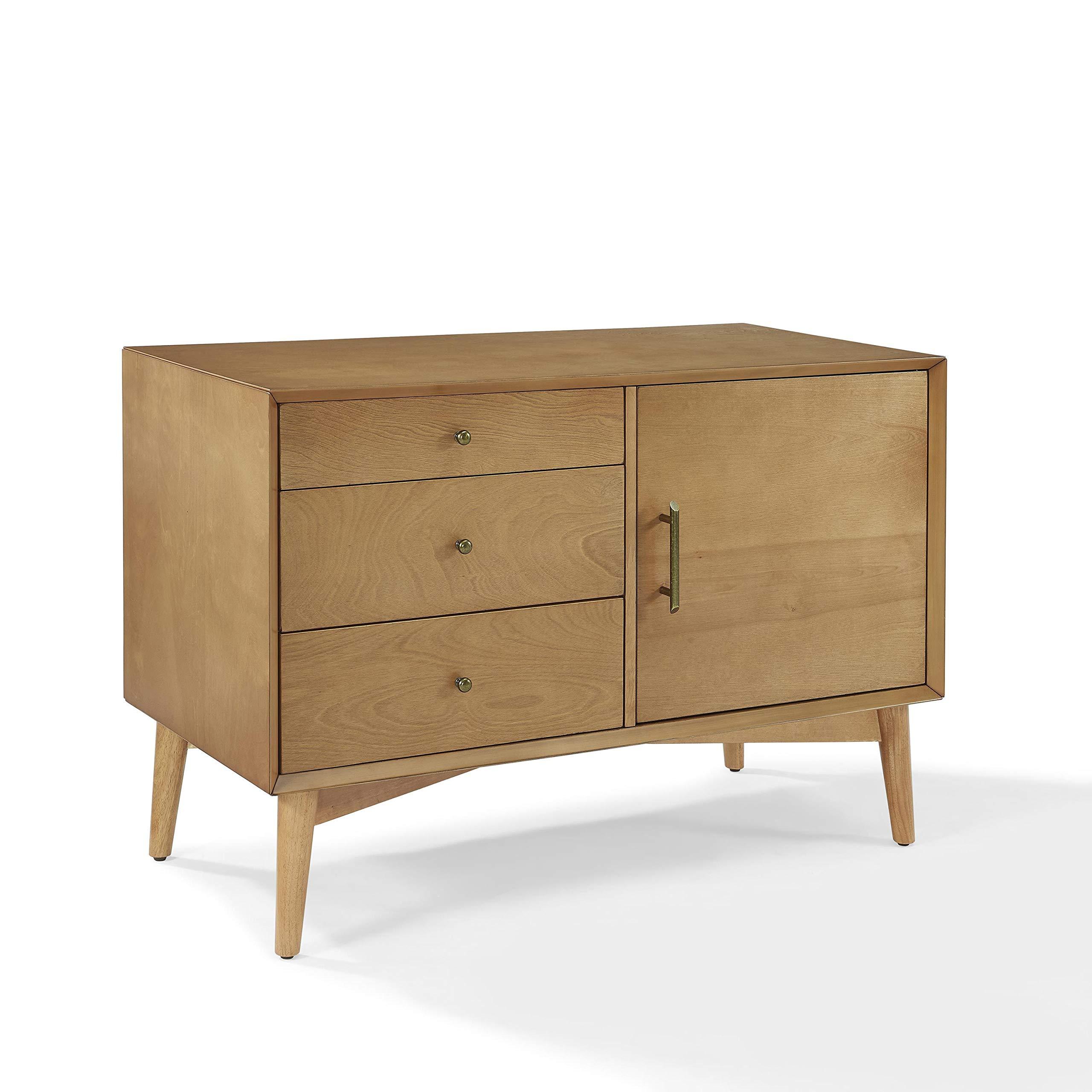 Crosley Furniture Landon Mid-Century Media Console - Acorn by Crosley Furniture